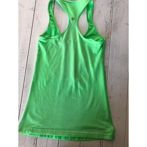 lululemon athletica Tops - LULULEMON PISTACHIO GREEN COOL RACERBACK SZ 2